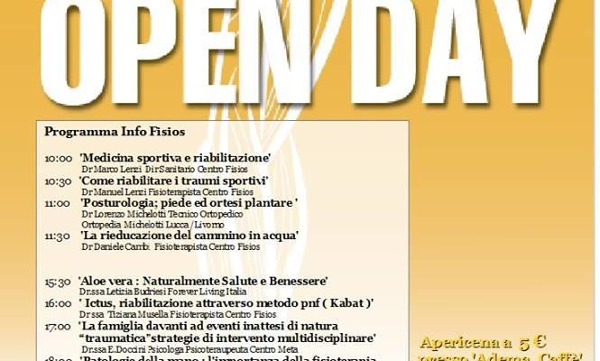 Open Day alla Fisios